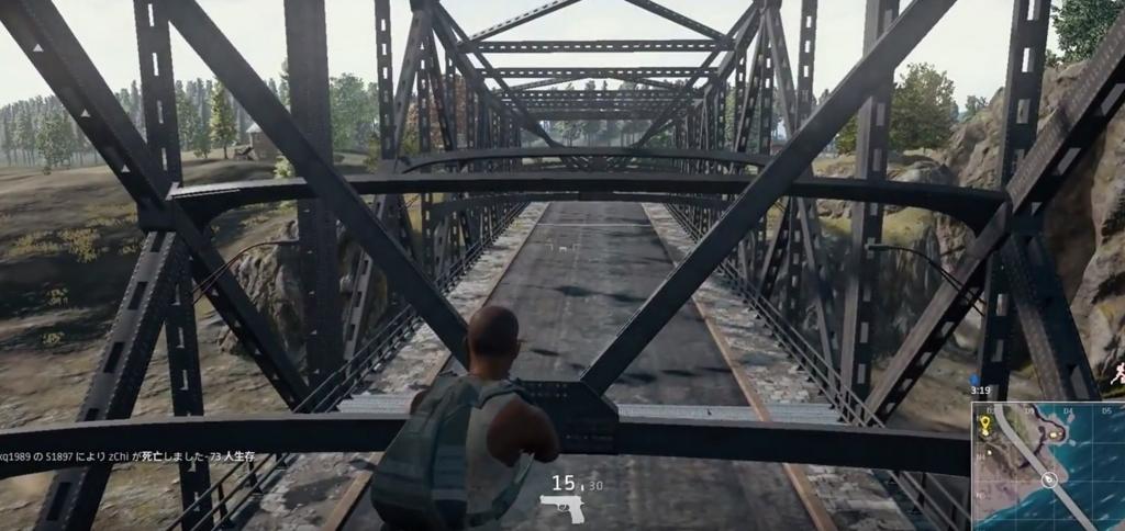 「PUBG」画期的な検問阻止ができる『橋の鉄骨に登る方法』を解説