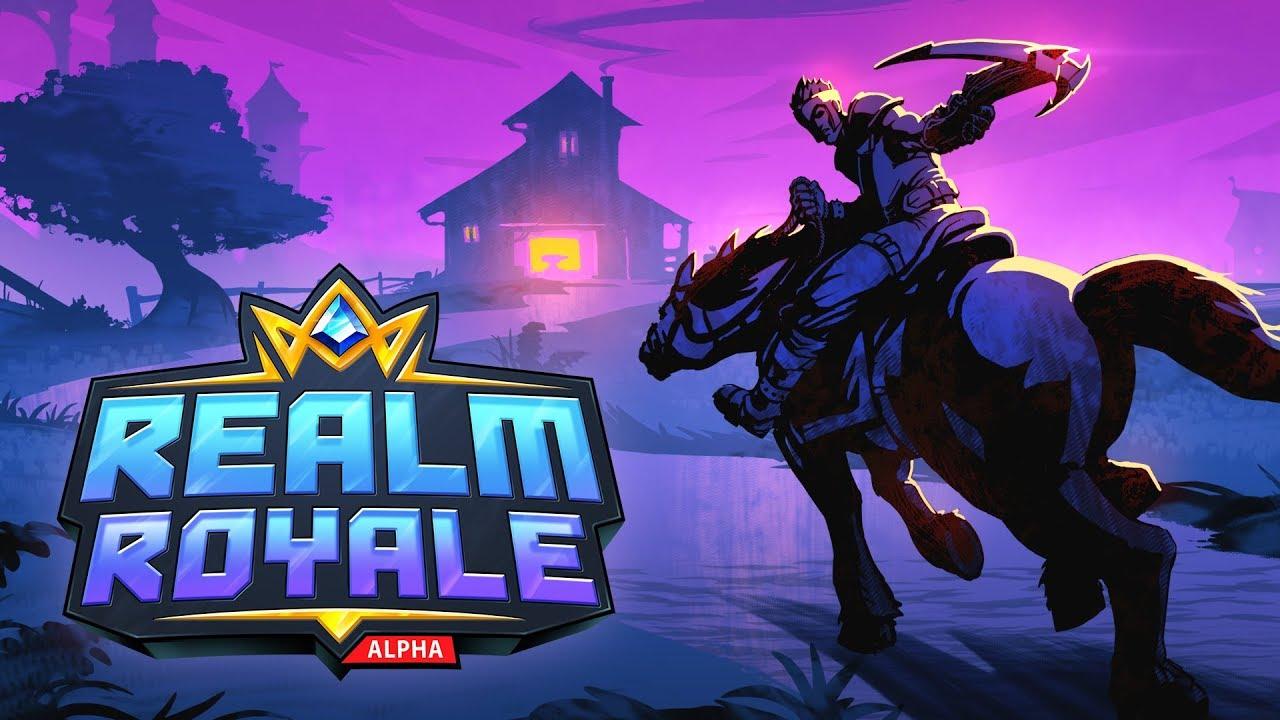 基本無料バトルロイヤル『Realm Royale』Steam早期アクセスにて配信開始