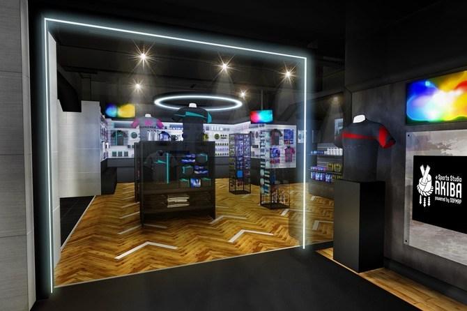 国内初の「eスポーツプロチームグッズ専門フロア」がソフマップAKIBA2号店パソコン総合館にオープン。本日7/28(土)より