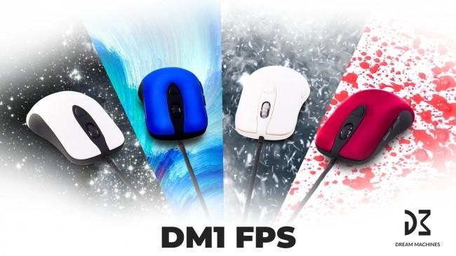 ポーランドDream Machines社のFPS・TPS専用ゲーミングマウス「DM1 FPS」国内販売がスタート