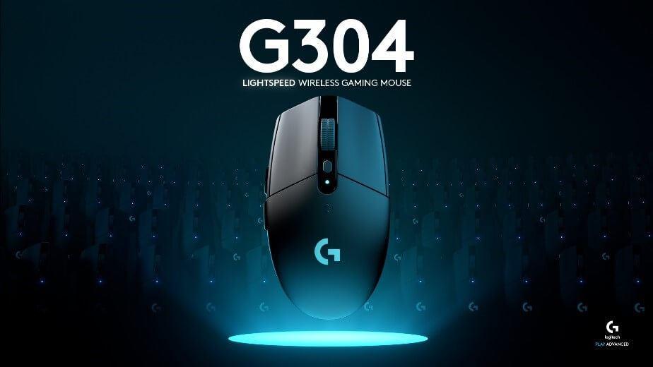 """Logicoolより無線ゲーミングマウス「G304」発売開始。5,000円台でワイヤレスシステム""""LIGHTSPEED""""が体験可能なエントリーモデル"""