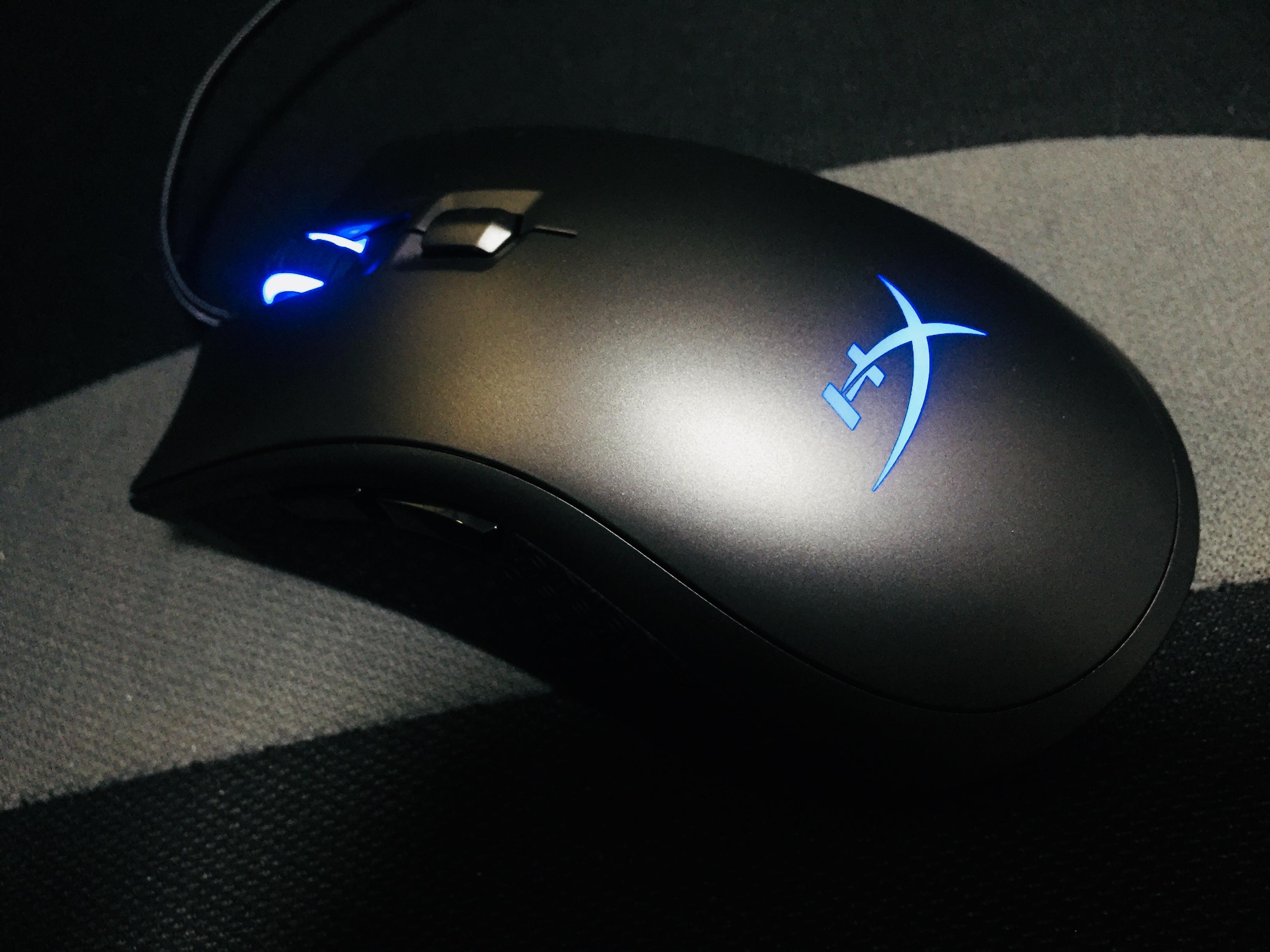 左右非対称ゲーミングマウス「HyperX Pulsefire FPS Pro」レビュー。手のサイズが標準~大きめの方に最適なIE3.0クローン機