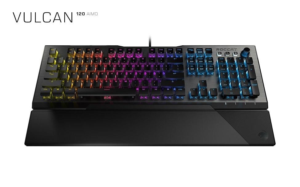 ROCCAT、低遅延の独自キースイッチを搭載したゲーミングキーボード「ROCCAT Vulcan 120 AIMO」発表。12月13日(木)より国内取り扱い開始