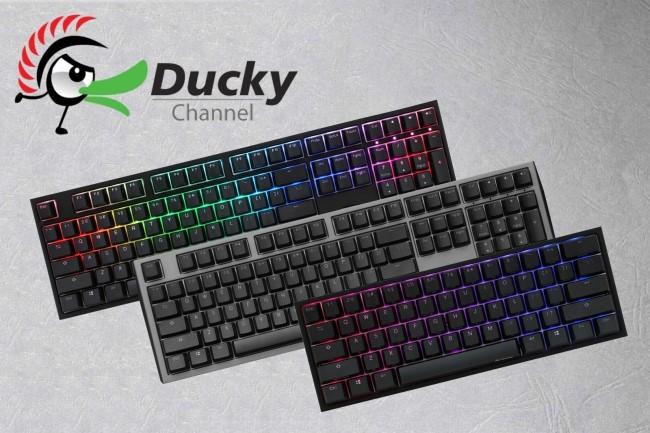 Ducky、英語配列のゲーミングキーボード3製品の国内取り扱いを決定。ふもっふのおみせにて11月28日(水)より予約販売を開始