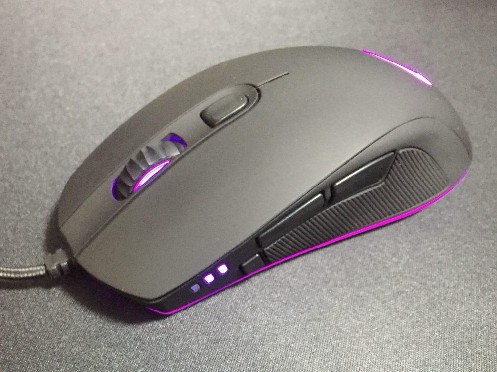 """「QPAD DX-30」レビュー。FPSに最適な第3のサイドボタン""""スナイパーボタン""""を備える、重ための左右非対称ゲーミングマウス"""