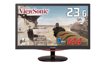 ViewSonic、ゲーミングモニター「VX2458-MHD-7」発表。144Hz/応答速度1msで税込19,980円、11月14日(水)よりドスパラ限定で販売開始