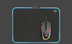 Trust Gaming、RGB LEDライティングを搭載した布製マウスパッド「GXT762 Glide-Flex Illuminated Flexible Mousepad」発表。1月30日(水)より国内取り扱い開始