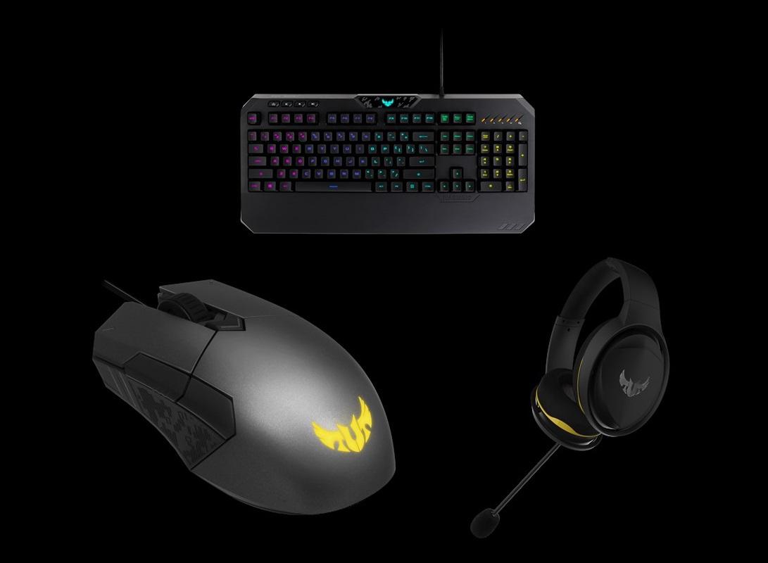 ASUS、耐久性を重視したTUF Gamingシリーズのゲーミングヘッドセット「H5」、キーボード「K5」、マウス「M5」 計3製品の国内取り扱いを開始