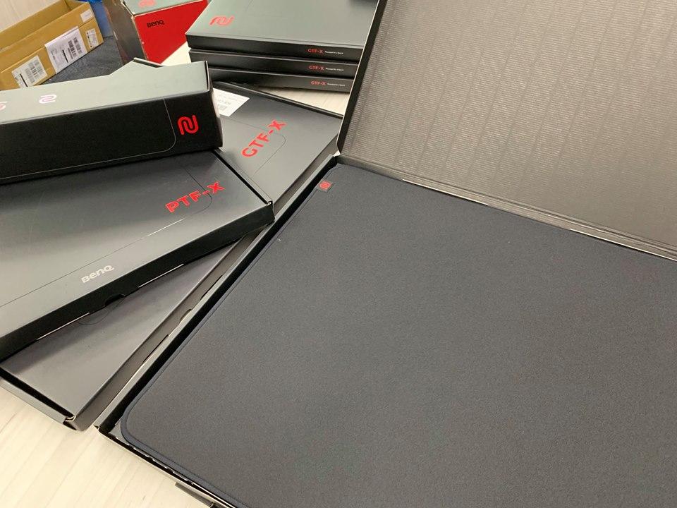 """BenQ Zowie、ゲーミングマウスパッド「G TF-X」シリーズのパッケージ刷新を発表。丸めて収納するのをやめて""""ボックスタイプ""""へ"""