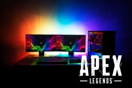 『Apex Legends』最新アップデートにてRazer Chromaへの同期に対応。ゲーム内の動作と合わせてLEDカラーとパターンが変化