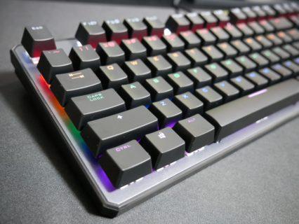 「Trust Gaming GXT865」レビュー。税込8,000円台の本格的な赤軸メカニカルゲーミングキーボード、エントリーユーザーに最適