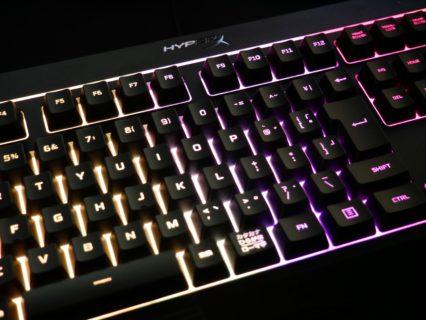 「HyperX Alloy Core RGB」レビュー。メンブレンスイッチ採用により税込7,980円と低価格、充実した機能を搭載するゲーミングキーボード