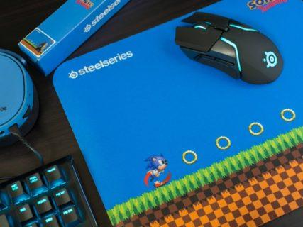 SteelSeries、定番ゲーミングマウスパッドQcKシリーズの「ソニック・ザ・ヘッジホッグ」コラボモデルを5月10日(金)に発売