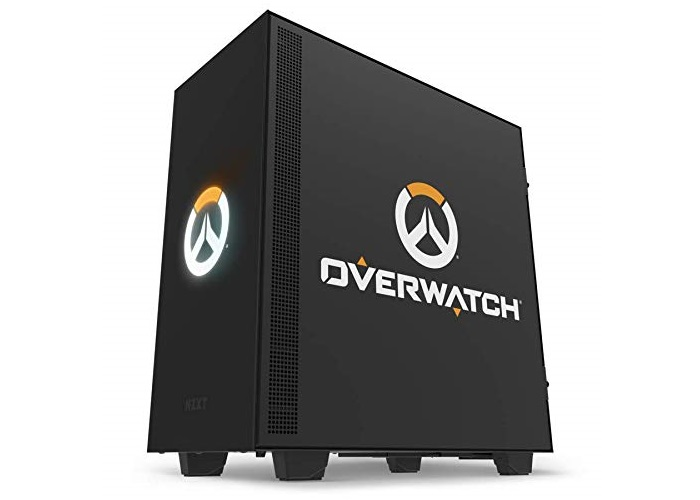 NZXT、前面のロゴがLEDで光る『オーバーウォッチ』コラボPCケース「NZXT H500 Overwatch」を5月17日(金)より販売開始