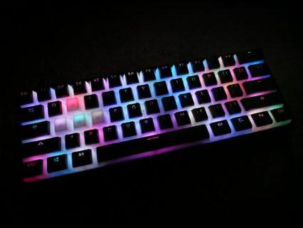 おすすめのキーキャップを紹介。ゲーミングキーボードのカスタマイズに最適