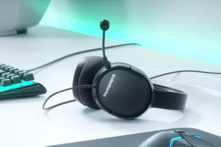 SteelSeries、エントリーユーザー向けヘッドセット「SteelSeries Arctis 1」を発表。価格は60ドルと安価ながら、Arctisシリーズと同じドライバーを搭載