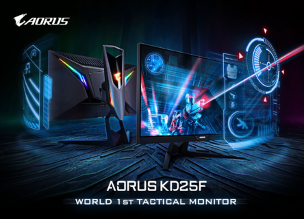 GIGABYTE、FPSゲーマーに向けた数々の機能を備える240hzゲーミングモニター「AORUS KD25F」を6月28日(金)に発売
