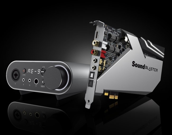 Creative、Sound Blasterシリーズの最新サウンドカード「Sound Blaster AE-9」「Sound Blaster AE-7」2製品を発表。7月中旬に販売開始