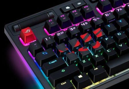 ASUS、ROGのロゴがアクセントとなったキーキャップセット「ROG Gaming Keycap Set」を7月5日(金)より販売開始