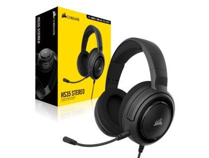 Corsair、エントリーユーザー向けゲーミングヘッドセット「Corsair H35 Stereo」を7月27日(土)より販売開始。価格は税込6,210円