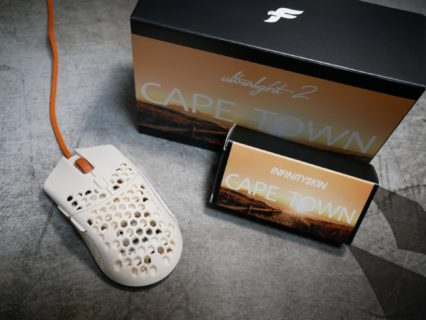 「Finalmouse Ultralight 2 – Cape Town」レビュー。わずか47gの最軽量ゲーミングマウス
