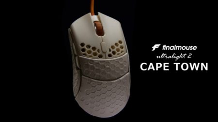 重量わずか47gのFinalmouseの最新作「Finalmouse Ultralight 2 – CAPE TOWN」予約注文分4000個が30分で完売