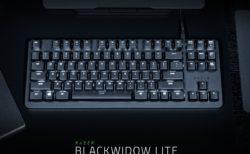 Razer、テンキーレスの静音ゲーミングキーボード「Razer BlackWidow Lite」を8月30日(金)に発売。価格は9980円(税抜)
