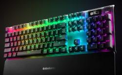 SteelSeries、新型ゲーミングキーボード「SteelSeries Apex Pro」を10月4日(金)に国内発売。アクチュエーションポイントを0.4mm-3.6mmの間で調整可能