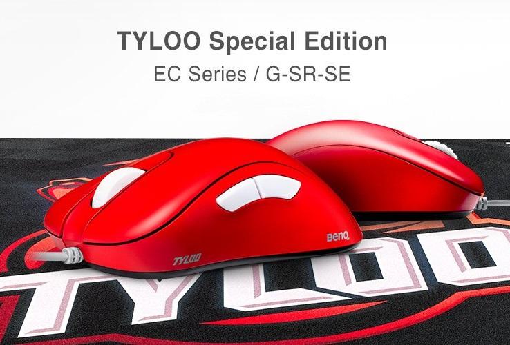 BenQ ZOWIE、真っ赤な「EC Series」とチームロゴがプリントされた「G-SR-SE」を発表。プロチームTYLOOとのコラボモデル