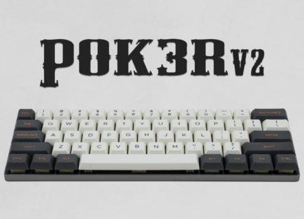 台湾Vortexgear、Cherry MX低背キースイッチ搭載の60%キーボード「Vortex POK3R V2」を11月22日(金)に国内発売