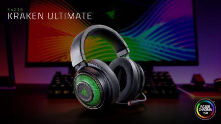 Razer、立体音響技術を備えるゲーミングヘッドセット「Razer Kraken Ultimate」と廉価モデル「Kraken X USB」を発表