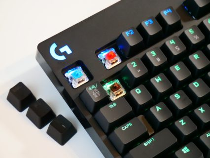 「Logicool G Pro Xキーボード」レビュー。キースイッチ交換に対応、キーごとに打鍵感を変えられるゲーミングキーボード