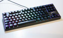 「Xtrfy K4 RGB」レビュー。2サイズ3カラーから選べる、Xtrfyらしい硬派な赤軸ゲーミングキーボード