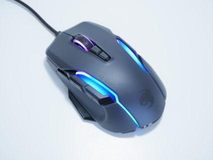 「ROCCAT Kone AIMO Remastered」レビュー。唯一無二の形状がウリの大型ゲーミングマウス
