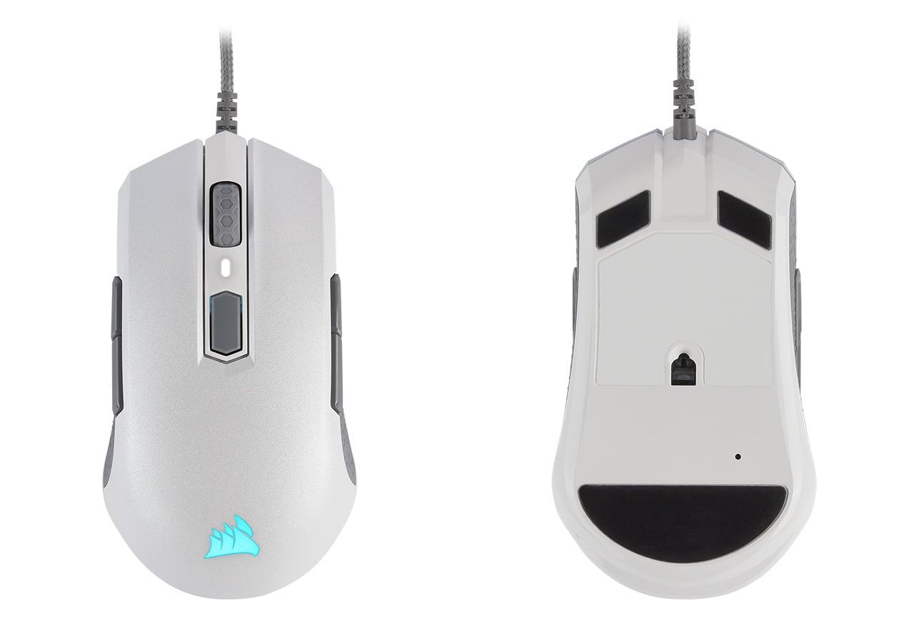 Corsair、左右対称ゲーミングマウス「M55 RGB PRO」のホワイトモデルを12月28日(土)に国内発売