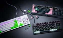 Razer、4色展開の交換用キーキャップ「Razer PBT Keycap」と冷却ジェル入りリストレスト「Razer Ergonomic Wrist Rest Pro」を12月20日(金)に国内発売