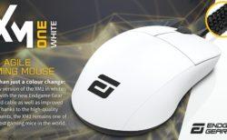 Endgame Gear、XM1のホワイトモデル「Endgame Gear XM1 White」を発表。軽くて柔らかいケーブル、厚めのマウスソールに変更