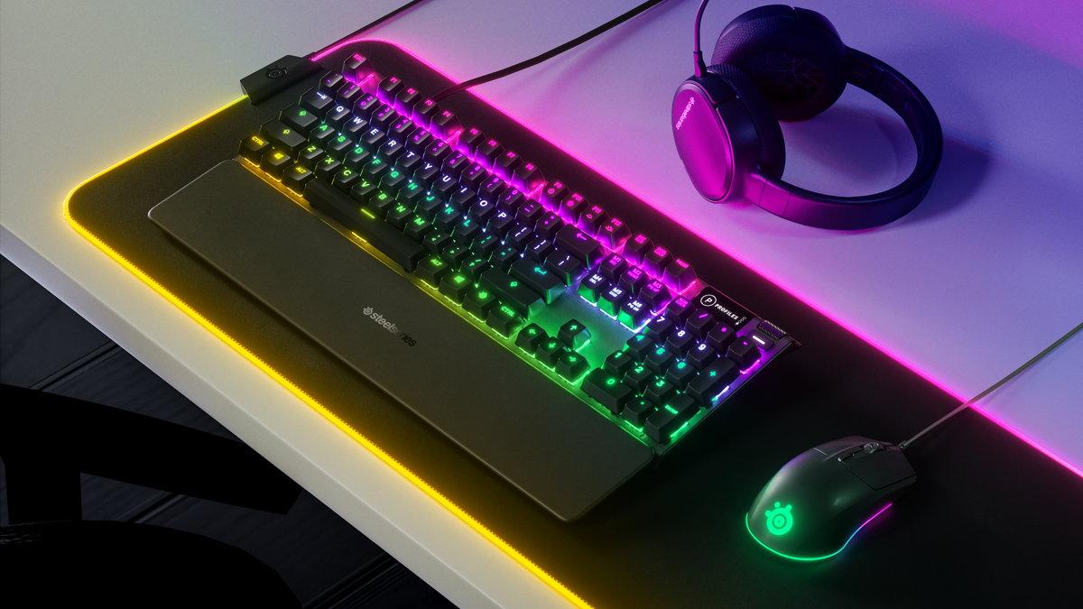 SteelSeries、新型ゲーミングマウス「Rival 3」とゲーミングキーボード「Apex 3」「Apex 5」を発表