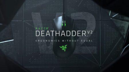 Razer、人気ゲーミングマウスの最新モデル「Razer DeathAdder V2」発表。約82gまで軽量化、センサーやスイッチ、ケーブルも刷新