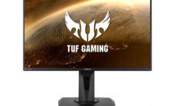 ASUS、IPSパネル採用で144Hz/1msの24.5型ゲーミングモニター「TUF Gaming VG259Q」を2月7日(金)に発売