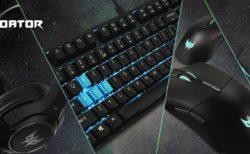 Acer、ゲーミングブランドPredatorよりゲーミングデバイス5製品+バックパックを発売
