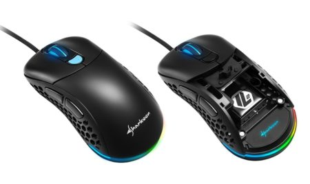 Sharkoon、本体重量62gの軽量ゲーミングマウス「Sharkoon Light² 200」を4月10日(金)に国内発売。交換用トップカバーが付属