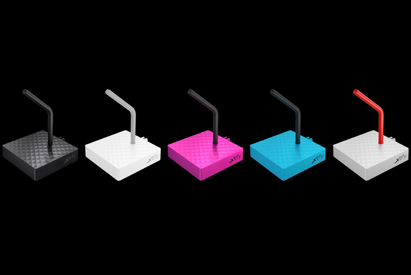 Xtrfy、5色展開の単機能マウスバンジー「Xtrfy B4」を6月26(金)に国内発売。価格は2,310円(税別)