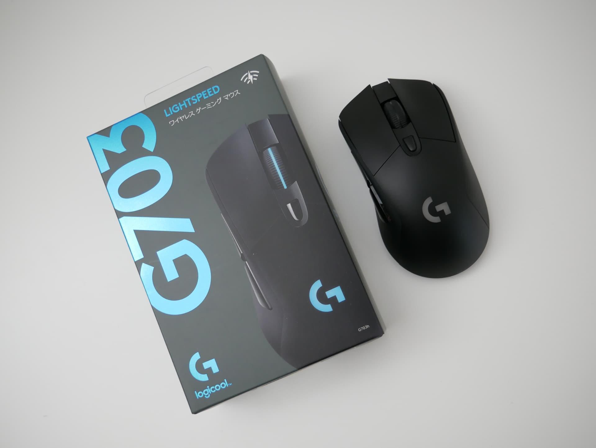 「Logicool G703h」レビュー。IE3.0クローンが好みならば持っておいて損はない無線ゲーミングマウス