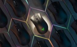 Razer、DeathAdder V2の小型軽量版「Razer DeathAdder V2 Mini」を6月30日(火)に国内発売。上面と側面に貼るグリップテープが付属
