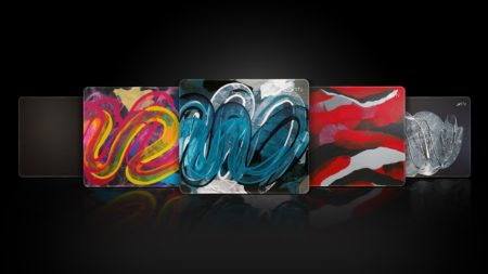 Xtrfy、スウェーデンの芸術家によるペイントをあしらったゲーミングマウスパッド「Xtrfy GP4」を発表