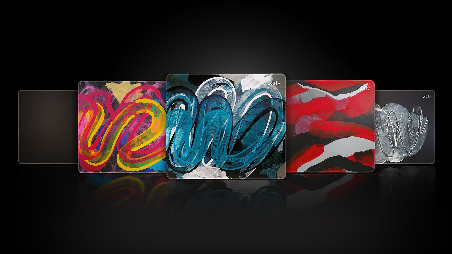 Xtrfy、スウェーデンの芸術家によるペイントをあしらったゲーミングマウスパッド「Xtrfy GP4」を8月28日(金)に国内発売