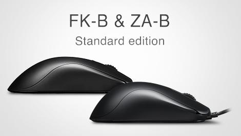 BenQ、人気シリーズの最新モデル「BenQ ZOWIE FK-B」「BenQ ZOWIE ZA-B」を発表。いずれも右側のサイドボタンを撤廃、PixArt PMW3360センサーを搭載