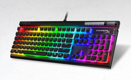 HyperX、半透明のキーキャップを標準搭載したフルサイズのゲーミングキーボード「HyperX Alloy Elite 2」を国内発売