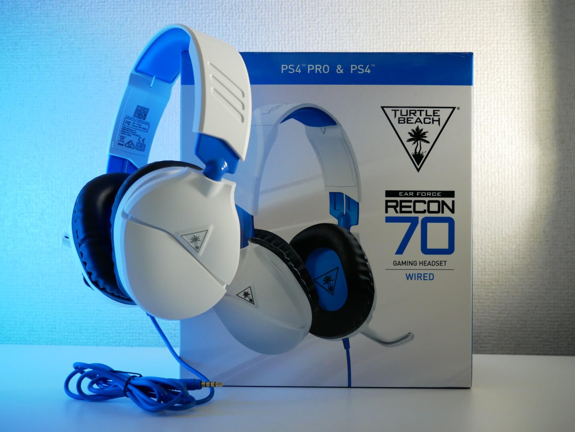 「Turtle Beach Recon 70」レビュー。5,000円台としては優れた音質のエントリー向けゲーミングヘッドセット